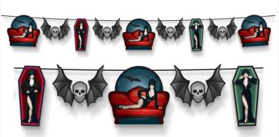 Elvira, the Queen of Halloween streamer