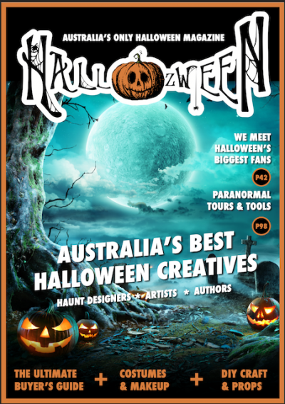 Hallozween magazine, 2021 edition