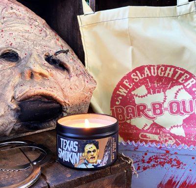 Texas Smokin' candle